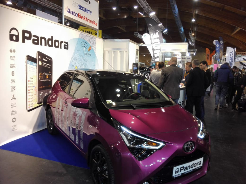 "Pandora participated in The International Motor Show ""Auto 2019"""