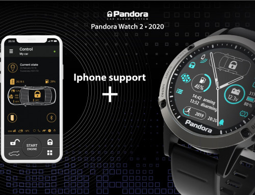 IPhone update available for Pandora Watch 2